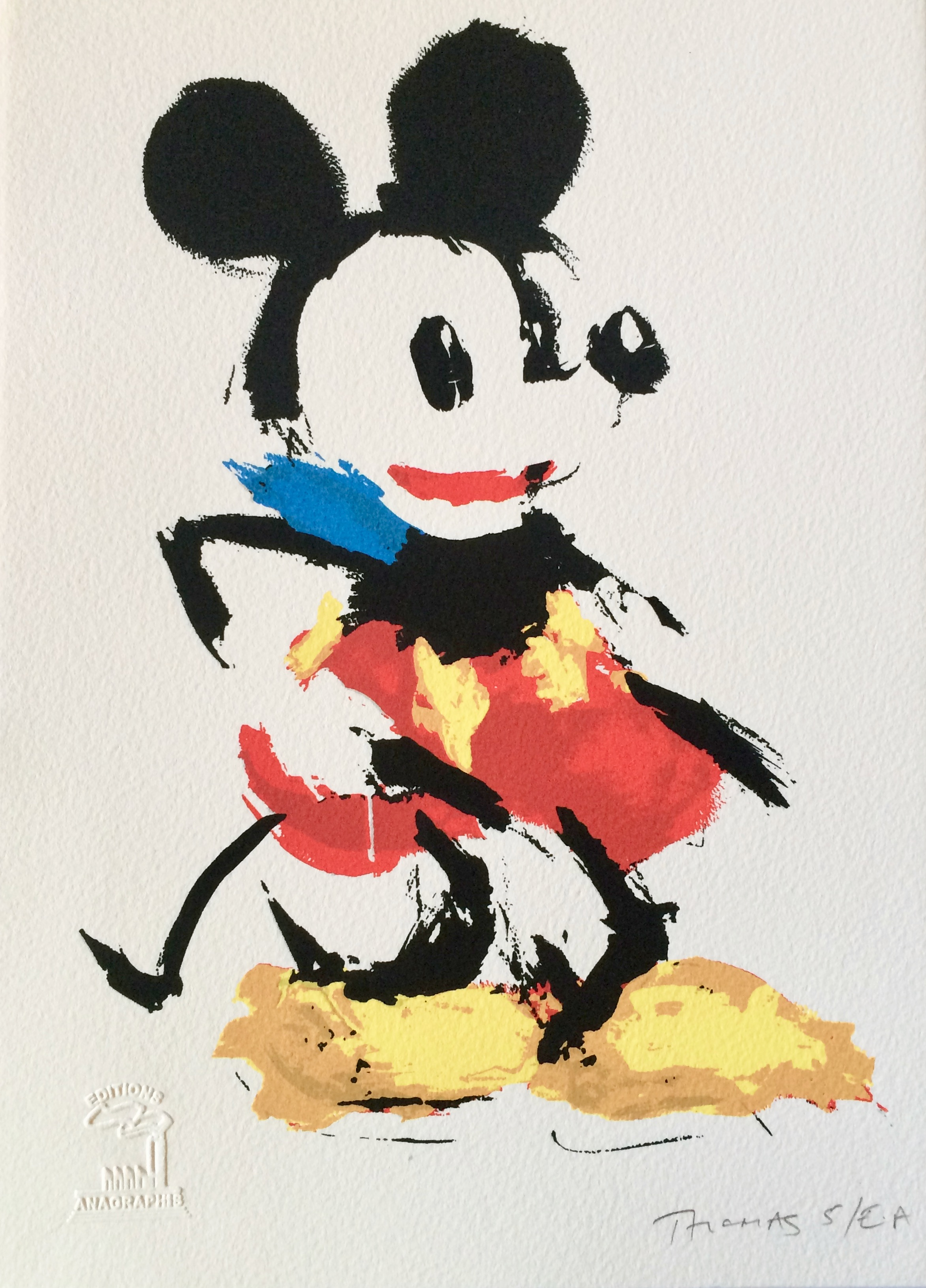 07_Karen Thomas_Mickey hold-up_ Screenprint A4_Artist_s proof 100.jpg