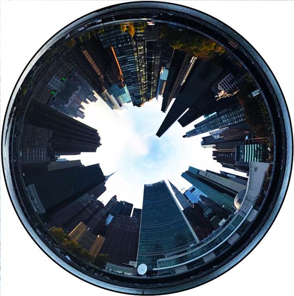 NYC Skyline,  Miguel Pérez Lem