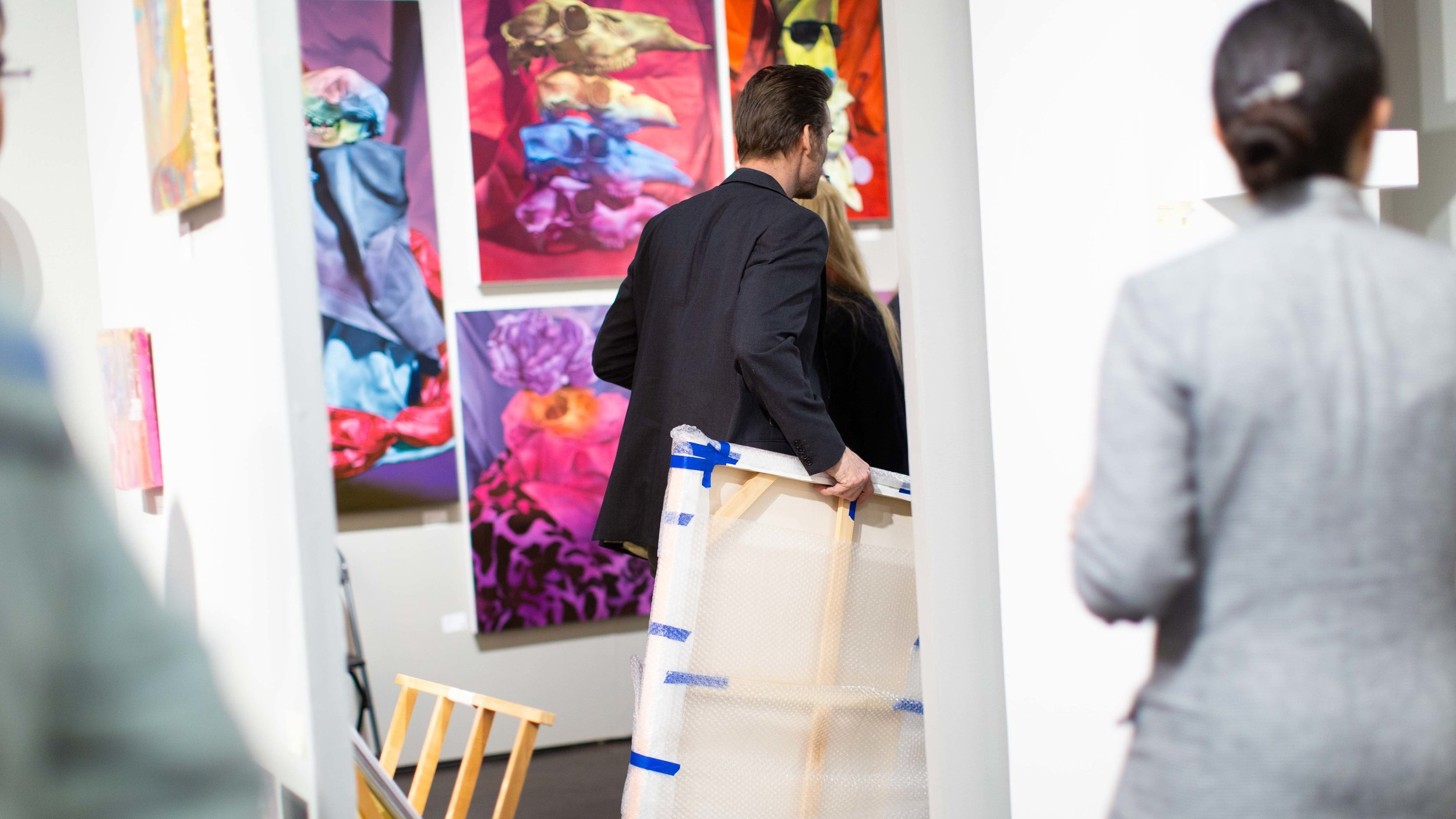 - 25% of our visitors make a significant ($100-$2,500+) art purchase.