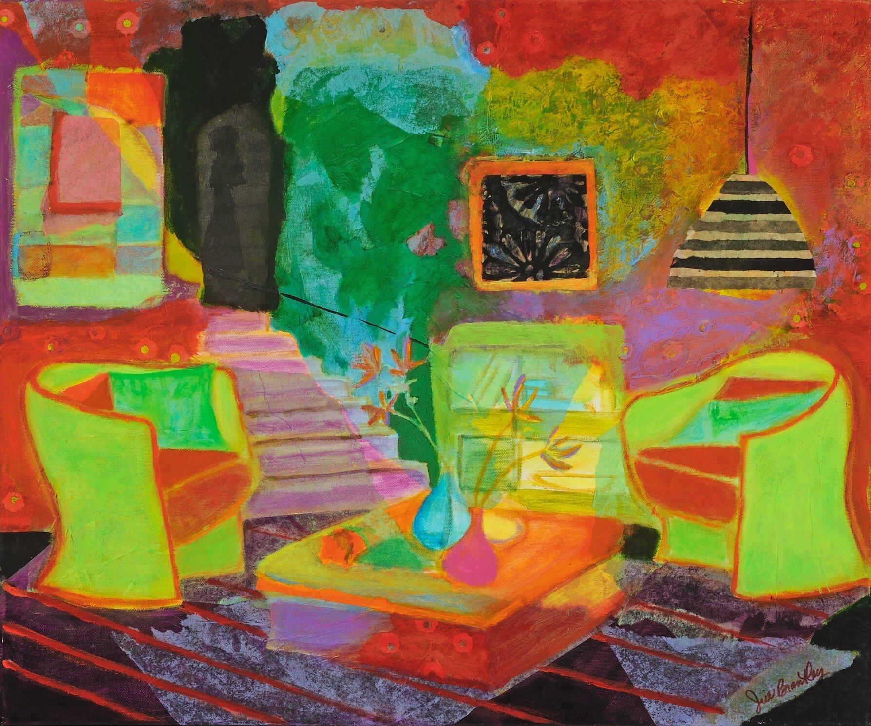 TG-JillBrantley-GreenChairs-26.5_x22.5_-MixedMediaCollage-2012-$525.jpg