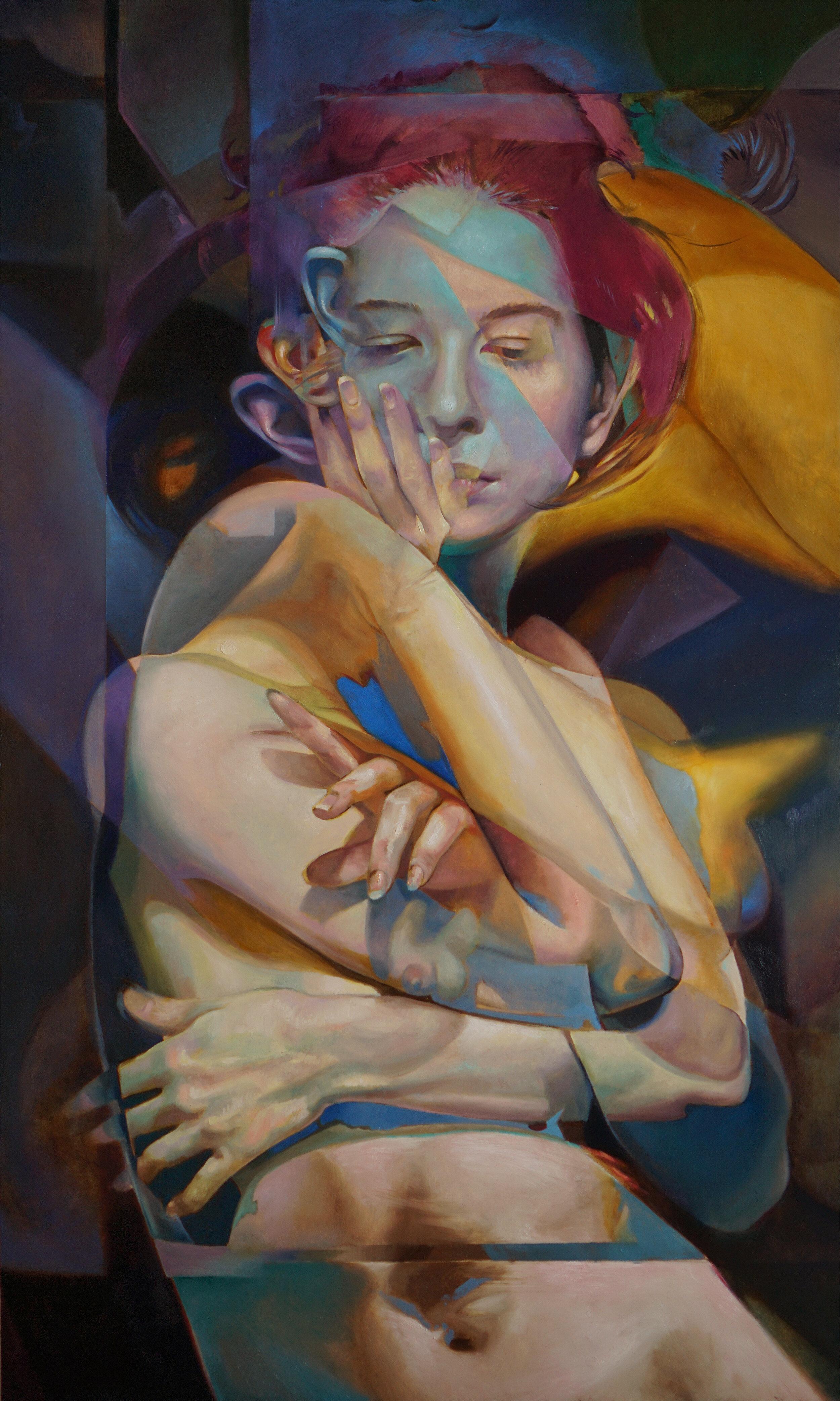 Scott Hutchison - Reach Beyond - Oil on aluminum - 17.5 x 29.jpg