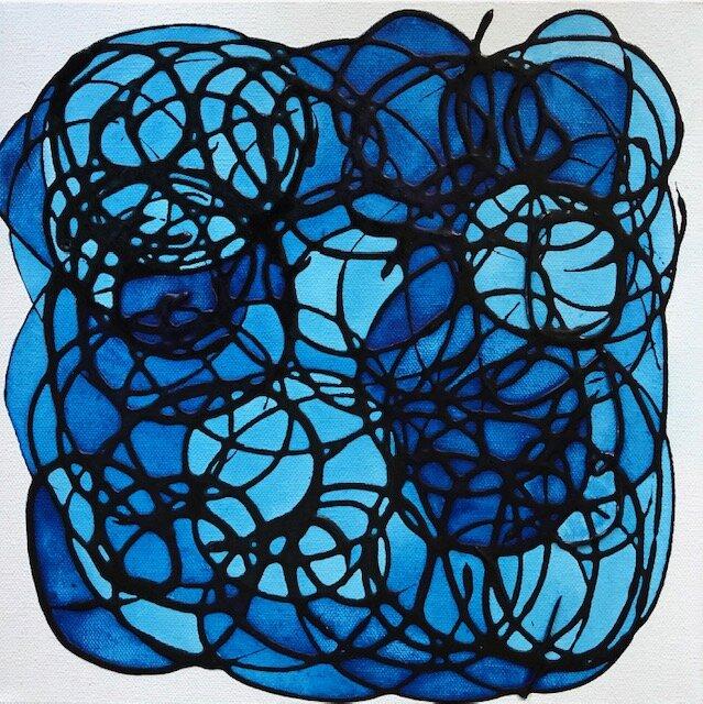Mary Westphal-Blue Reflection-12x12-Acrylic on Canvas-2019-$150.j.jpg