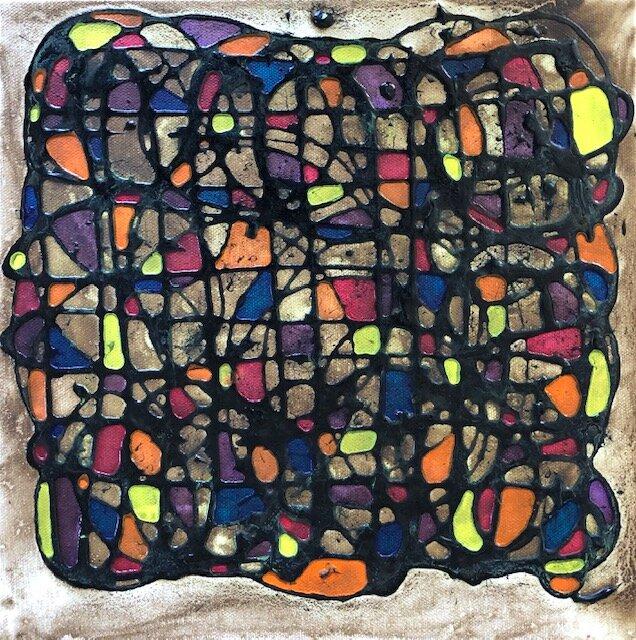 Mary Westphal-Retro Reflection-12x12-Acrylic on Canvas-2019-$150.jpg