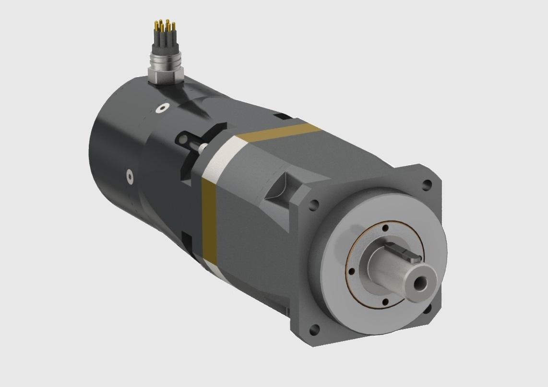 240VDC Brushless GearMotor