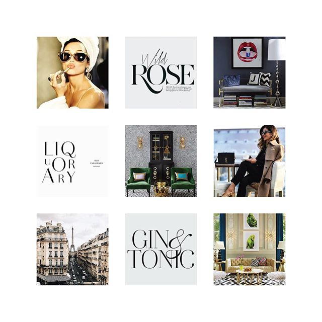 happy monday! a mood board to kick off a fun new branding project. strong + elegant. ✨ #moodboardmonday
