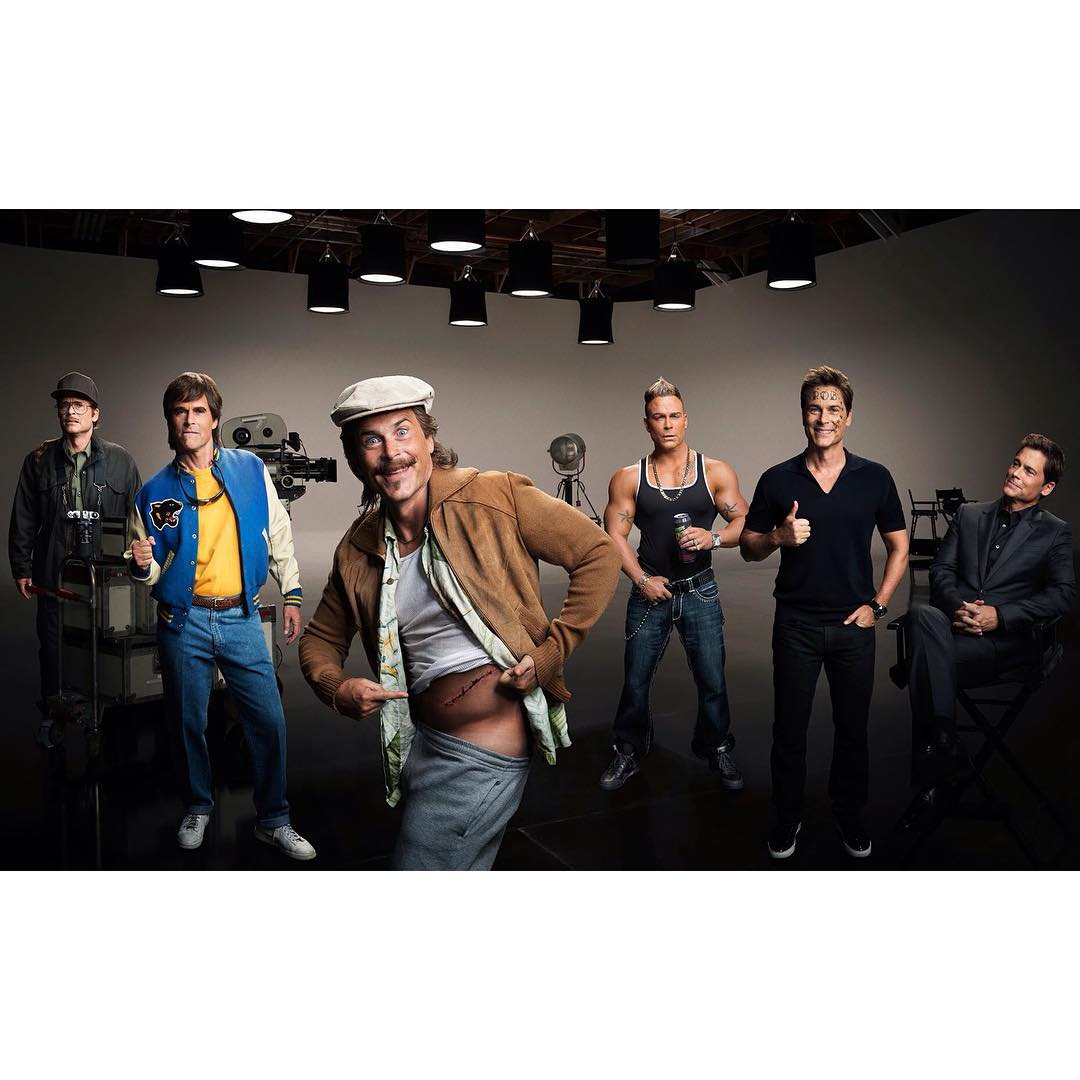 ALL of the Rob Lowes!  (@robloweofficial)    Shot by Scott McDermott (@scottmcdermott_)    For Direct TV  (@directv)    HOUSEtribeca.com  photo-retouching house    #photo #photoshoot #photography #photographer #scottmcdermott #style #styling #stylist #actor #roblowe  #retouch #retouching #housestudios #nyc #newyorkcity #editorial #design #advertising #ad #celebrity #directv #cable #adcampaign #lighting #sporty #jock #paranoid
