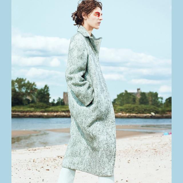 Staring into Space Planet Blue Eyes  Othilia Simon  (@othiliasimon)  Shot by Dario Catellani  (@dariocatellani)  For Russh Magazine (@russhmagazine)    HOUSEtribeca.com  photo-retouching house    #photo #photoshoot #photography #photographer #dariocatellani #style #styling #stylist #model #modeling #othiliasimon #mua #tropical #retouch #retouching #housestudios #nyc #newyorkcity #editorial #hair #design #blue #fashion #fashioneditorial #fashionphotography #beach
