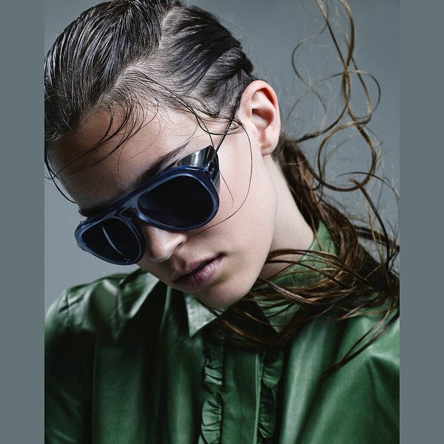 Steampunk snorkel gear gone chic, sunglasses by Gucci (@gucci)    Eliza Hartmann  (@elizahartmann)  Shot by Dario Catellani  (@dariocatellani)  For Dazed and Confused  (@dazedmagazine)  HOUSEtribeca.com  photo-retouching house    #photo #photoshoot #photography #photographer #dariocatellani #style #styling #stylist #model #modeling #elizahartmann #mua #makeup #retouch #retouching #housestudios #nyc #newyorkcity #editorial #green #design #designer #gucci #fashion #fashioneditorial #fashionphotography