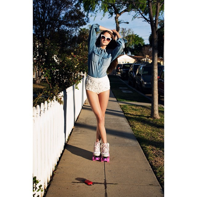 Love those cat-eye sunglasses and roller skates. So ready for summer!     Shailene Woodley 🍭  (@shai_woodley)  Shot by Jason Nocito  (@jasonnocito666)  For ASOS Magazine  (@asos)    HOUSEtribeca.com  photo-retouching house     #photo #photoshoot #photography #photographer #jasonnocito #hollywood #modeling #model #actress #shailenewoodley #insurgent #la #oranges #magazine #mag #editorial #ASOS #cover #retouch #retouching #nyc #summer #spring #rollerskates #vintage #retro #sunglasses