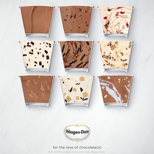 It's Thursday again! For our #tbt we have:  Häagen-Daz (@haagendazs_us)    Shot by: Aaron Graubart (@aarongraubart)    For Josette Lata    HOUSEtribeca.com  photo-retouching house    #advertising #agency #josettelata #photo #photography #advertisingphotography #ads #ad #aarongraubart #photographer #retouching #house #housestudios #haagendaz #icecream #happiness #chocolate #love #dessert