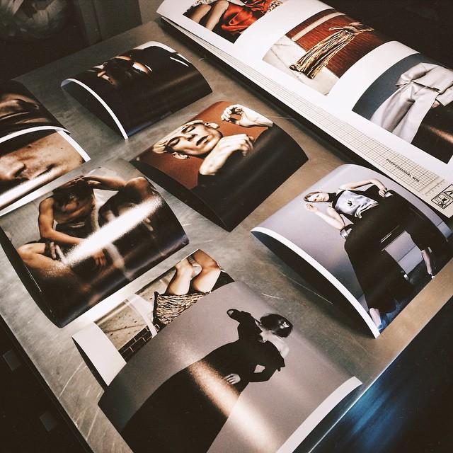Dario Printing in the studio today!       #printing #epson #9900 #fineartprinting #editorial #dariocatellani #housestudios #house #tribeca #retouching #prints #paper #studio #work #fashion #fashionphotography #teamwork