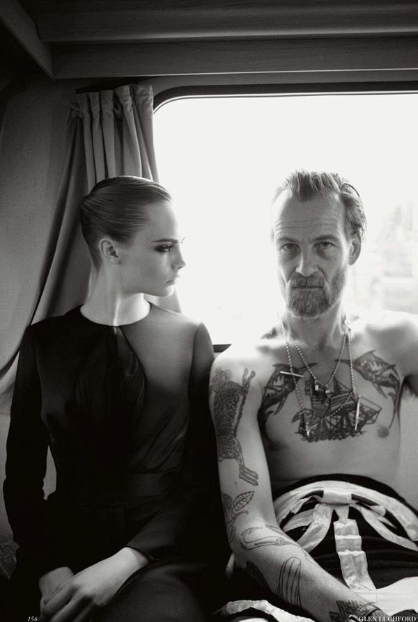 addictive-obsession :     Cara Delevingne Photographed by Glen Luchford for Vogue UK November 2012
