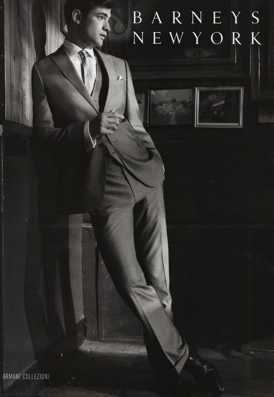 madame-deficit :     Sean O'Pry by Glen Luchford. Barneys Men S/S 2011 Ad Campaign.     Reblog of some of our old work for Glen