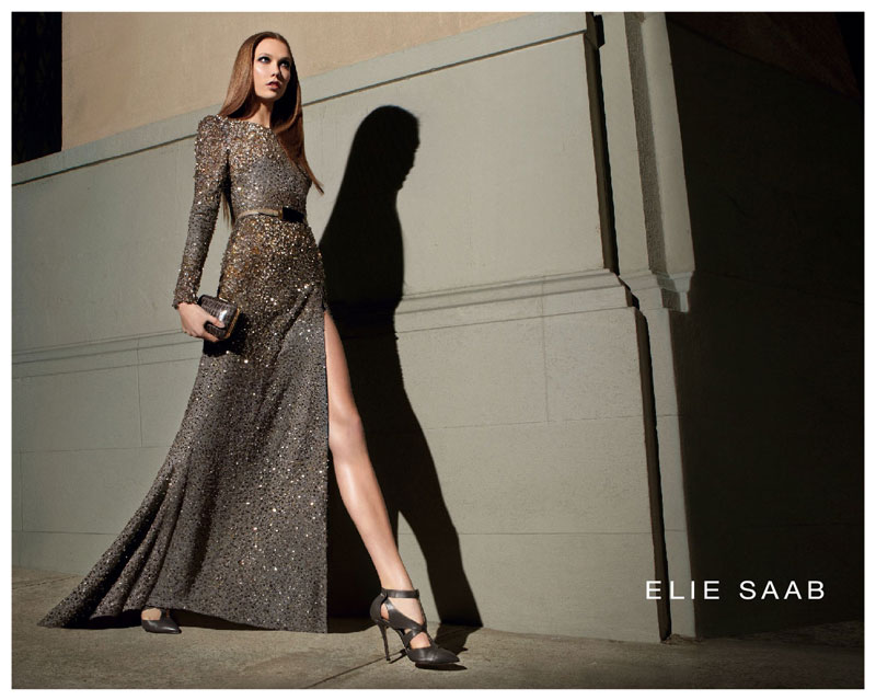 abeautifullychaoticlife :      Photos: Elie Saab Fall 2012 Campaign    I think two New York Fashion Weeks ago, I fell in love with the designs created by  Elie Saab . His clothes screams modern class without looking stuffy. Youthful, elegant, and classy…I love Elie Saab.   This morning I ran across  Elie Saab's Fall 2012 Campaign ads  featuring fashion's it girl supermodel  Karlie Kloss . The leggy model was photographed by  Glen Luchford  and styled by  Sophia Neophitou-Apostolou  in New York City.   Take a glimpse at the campaign shots plus the behind-the-scenes footage below.   ( read more )