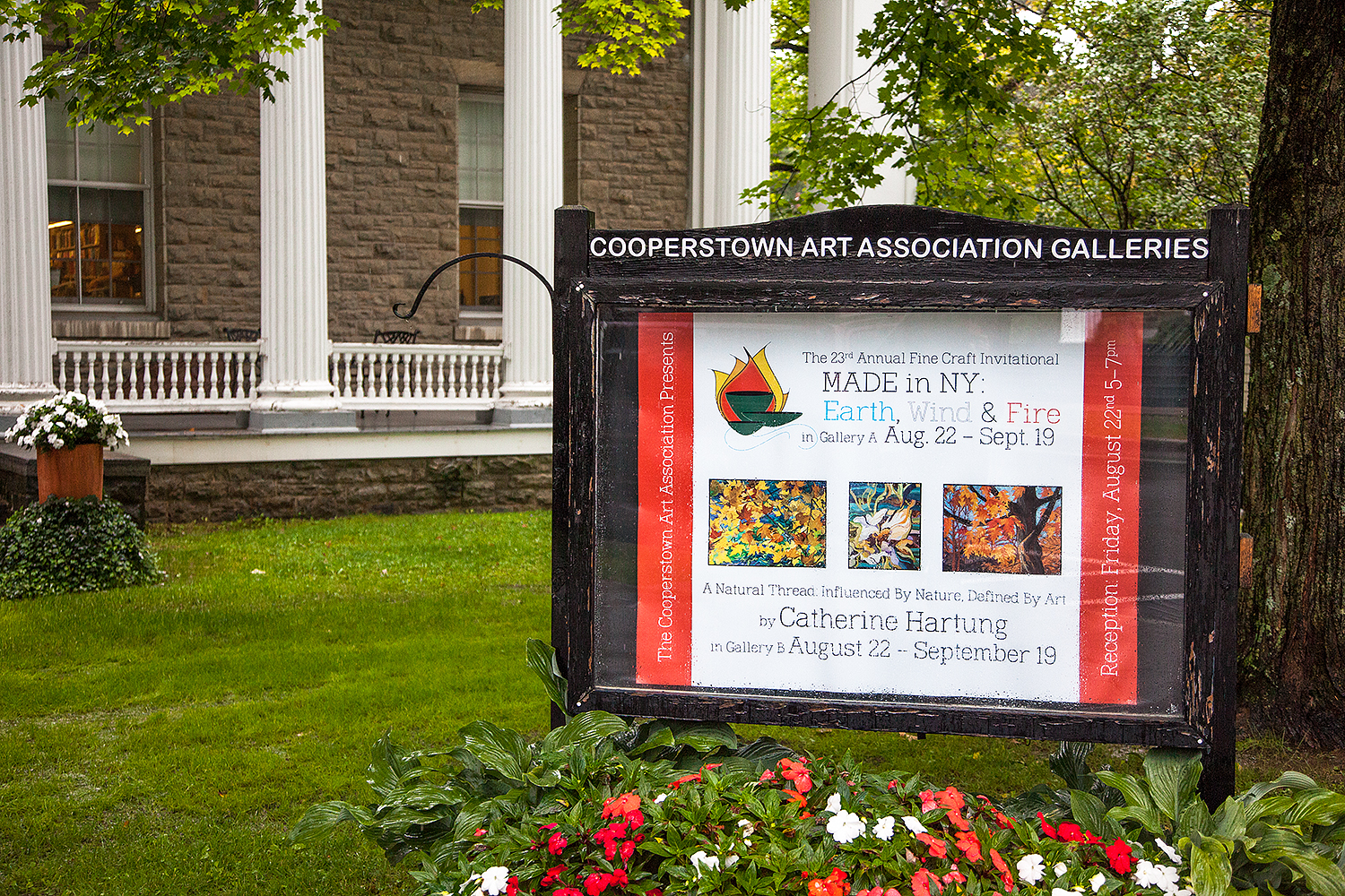 Solo Exhibition at Cooperstown Art Gallery 2014