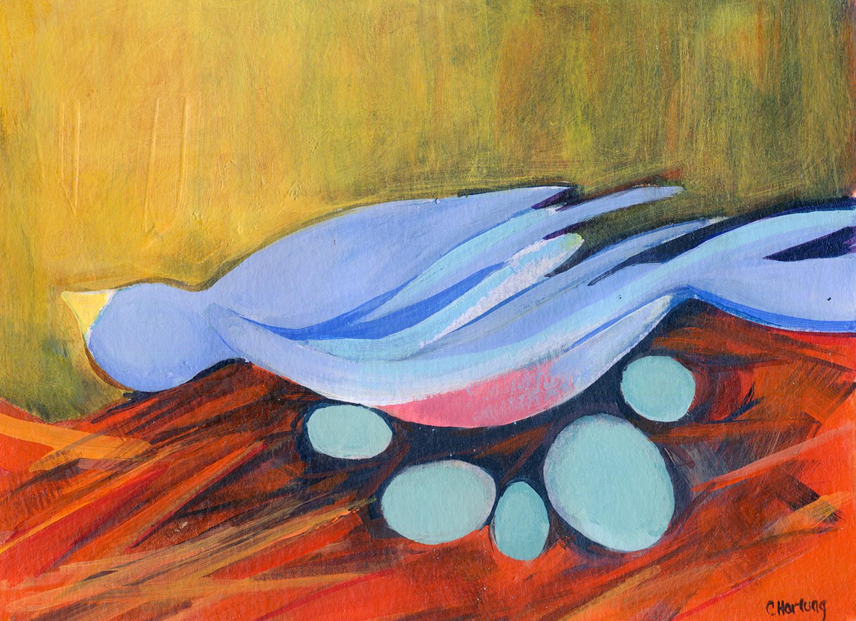 """""""Saving the Blue Bird"""""""