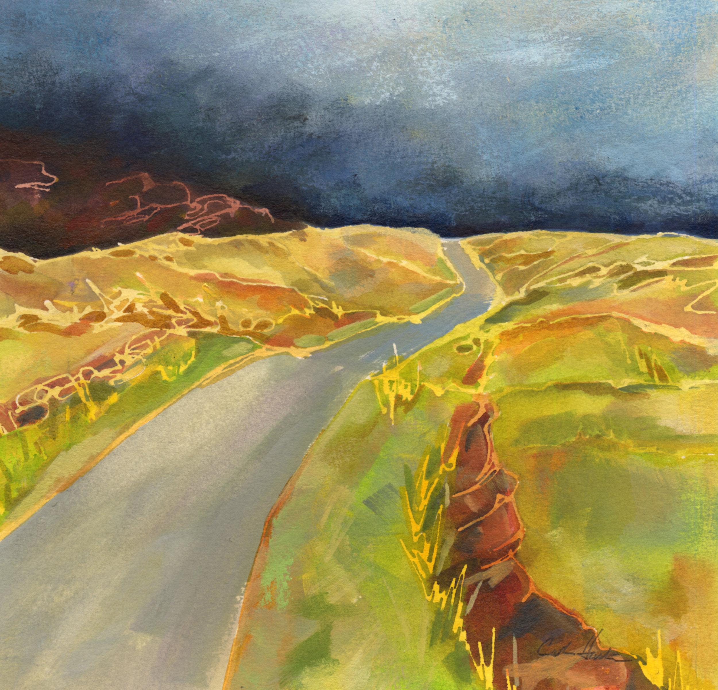 """Dark Horizon"" Connemara, Ireland"