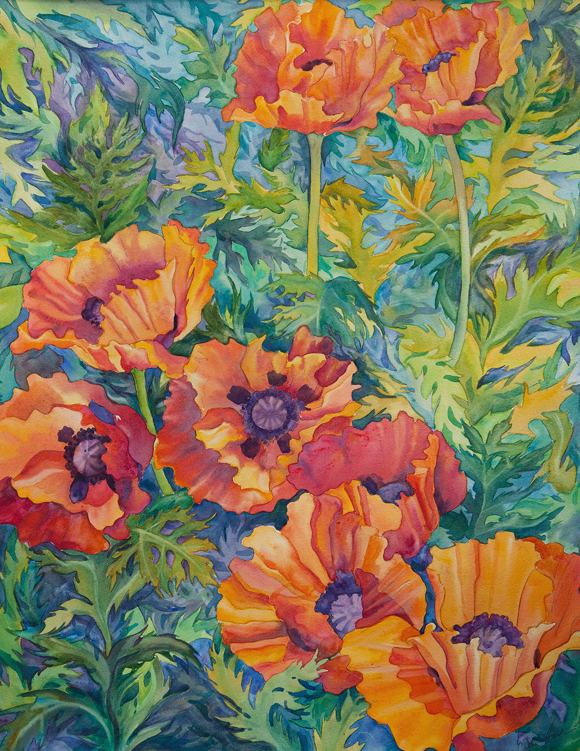 """""""Patterned Poppies"""""""
