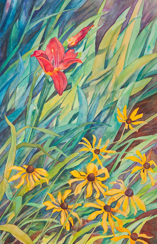 """Van Gogh Lily"""