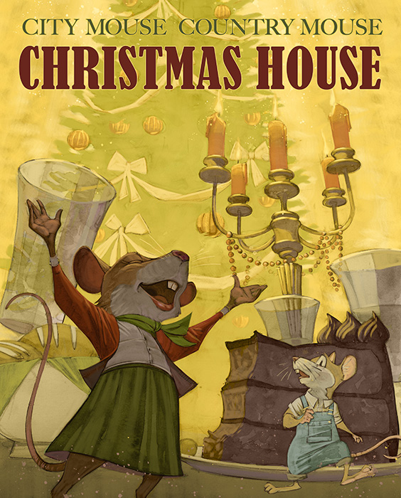 City Mouse, Country Mouse, Christmas House