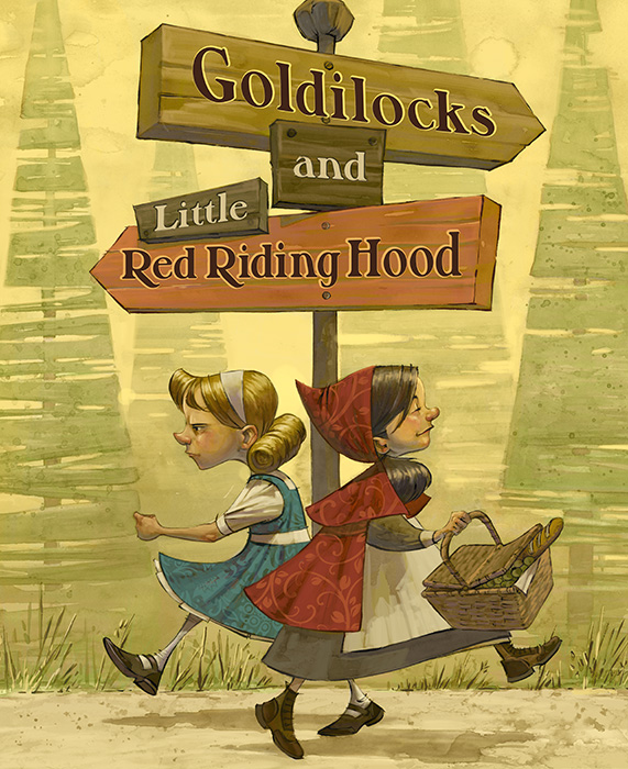 Goldilocks and Little Red Riding Hood