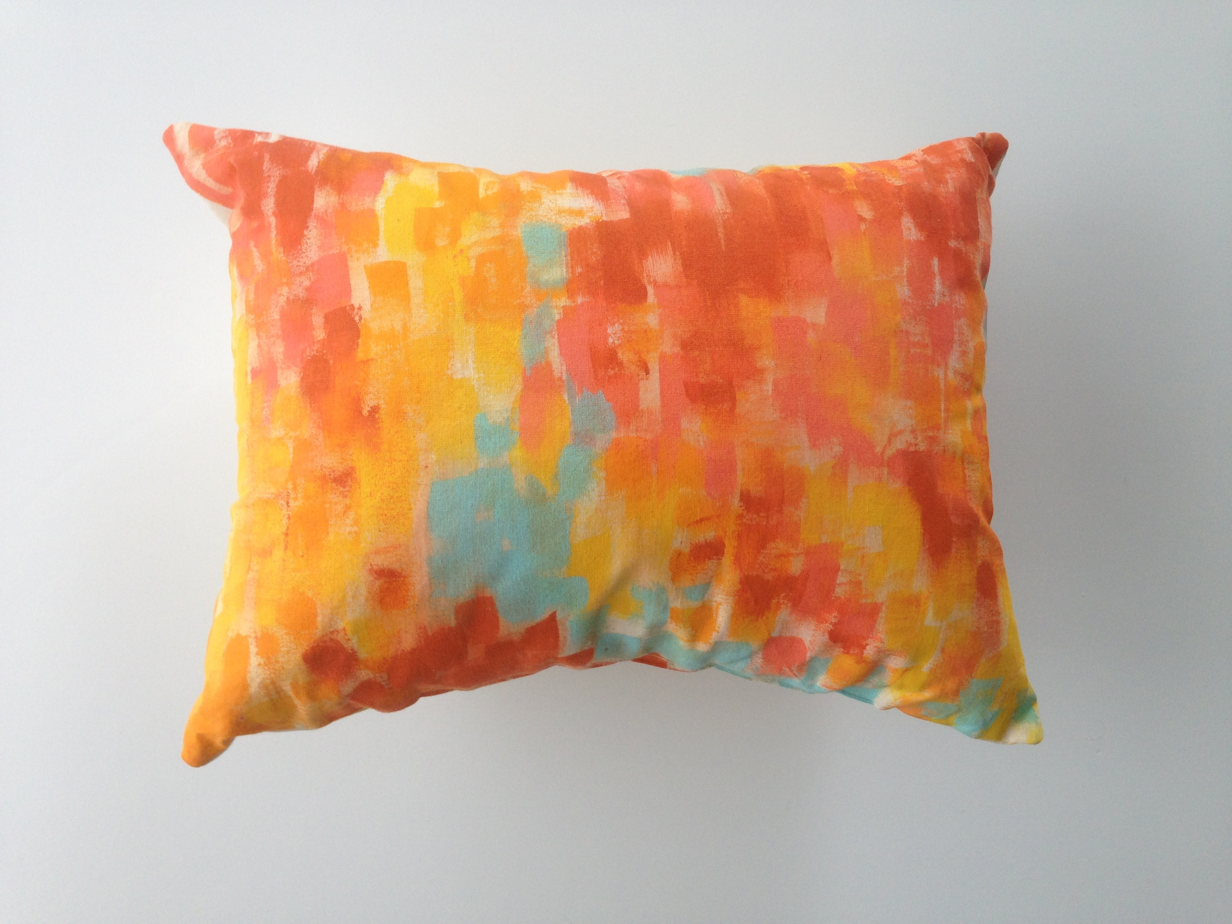 Handpainted Pillows    Created for Michaels Makers Summit   Alison Events