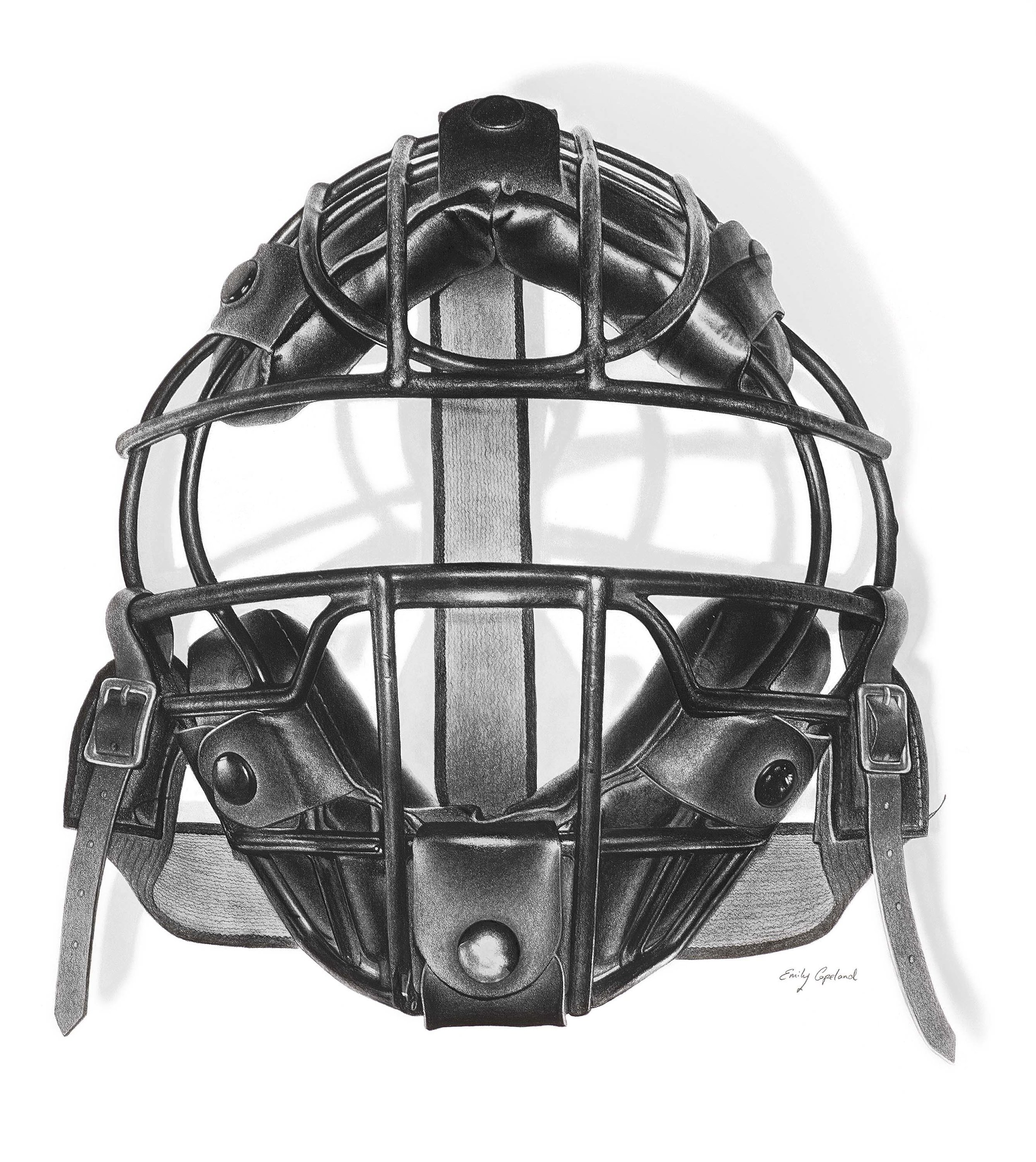 Vintage Baseball Catchers Mask