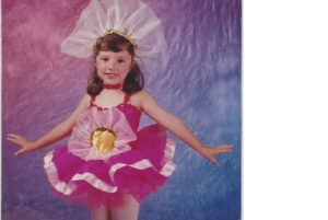 Miss Kelly age 4-at her first recital!