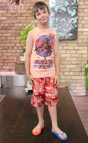 Young Boy Summer Outfit
