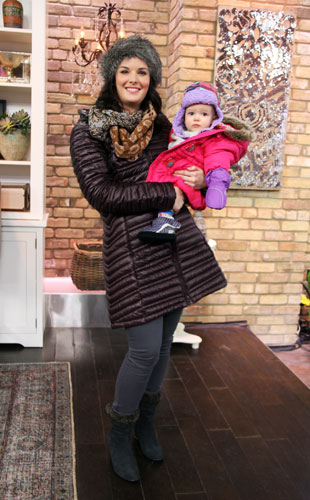 Mom and Baby/Toddler Winter Wear