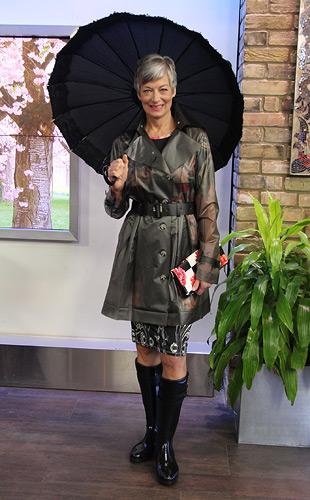 Trendy Rain Day Look
