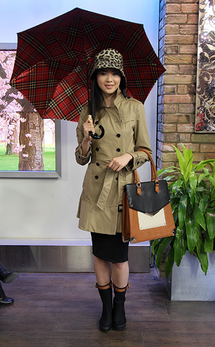 Classic Rain Day Look