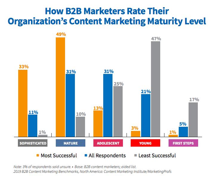 Content Marketing Maturity Level