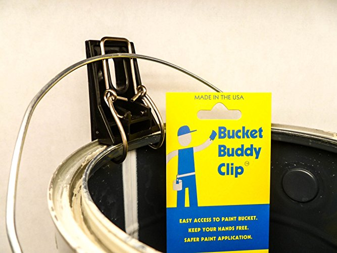 PETE: BUCKET BUDDY MAKES PAINTING EASIER AND MORE EFFECIENT! - My crew and I have been using bucket buddy's for over a year now. Makes ladder and brush work a lot more efficient as well as preventing spills and keeping brushwork a bit cleaner all around. A must for any professional or do it your self painter!!
