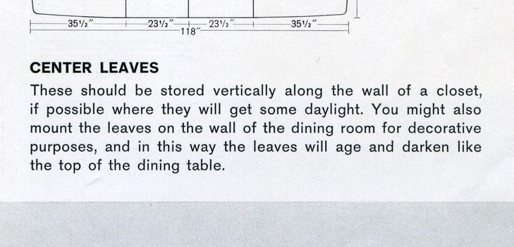 Vintage Danish furniture catalog advice