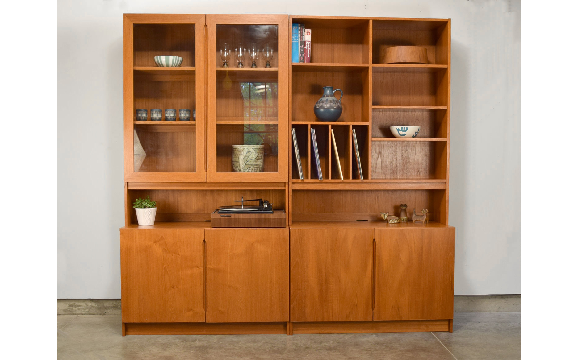 Archive Shelving Wall Units Vintage Modern Maine