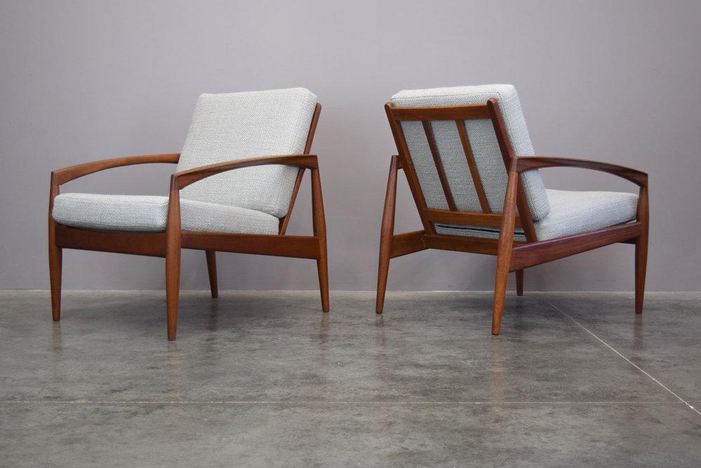 Kai Kristiansen 'Paperknife' Lounge Chairs