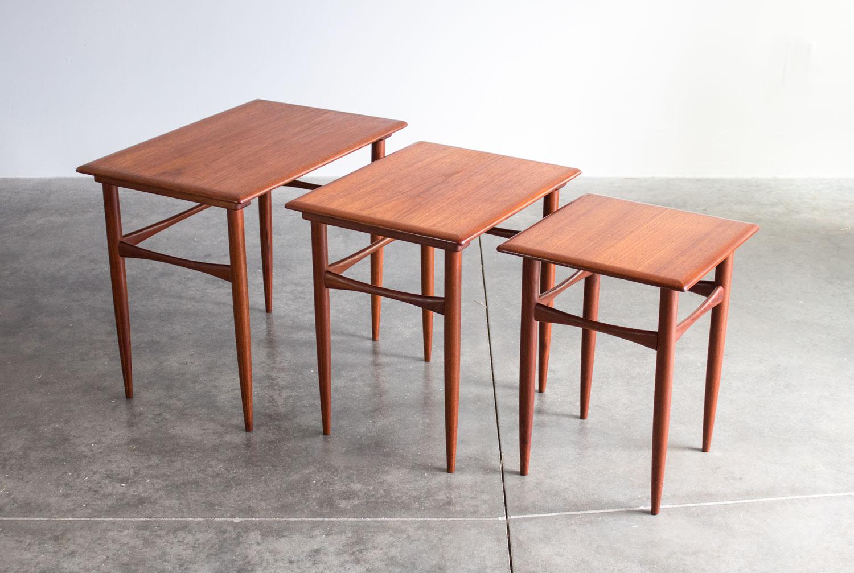 Kai Kristiansen Nesting Tables