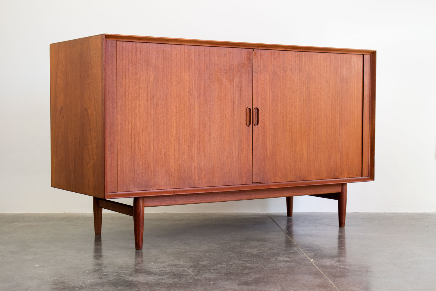 TEAK STEREO CABINET BY SIBAST