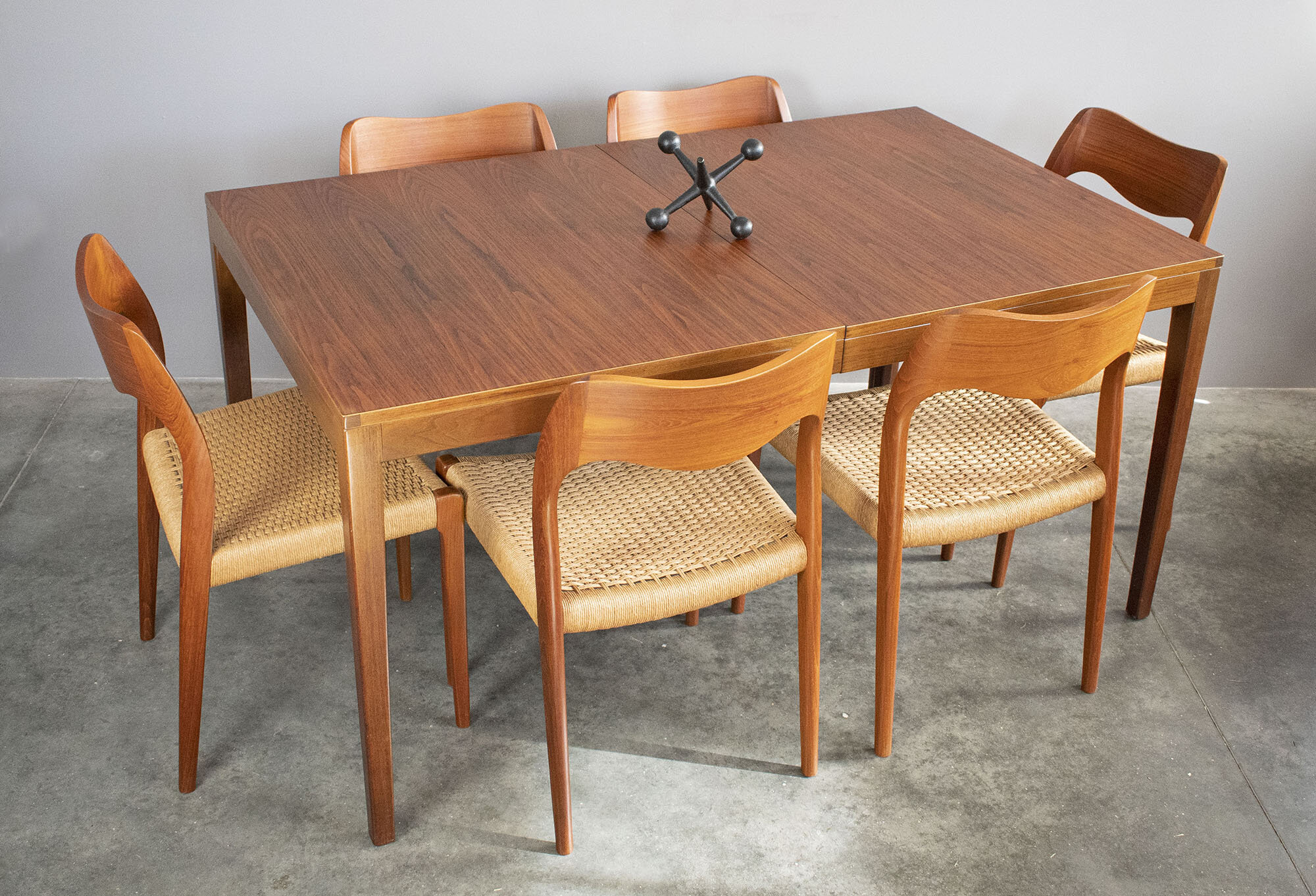 Rare George Nelson For Herman Miller Walnut Dining Table Sold Vintage Modern Maine