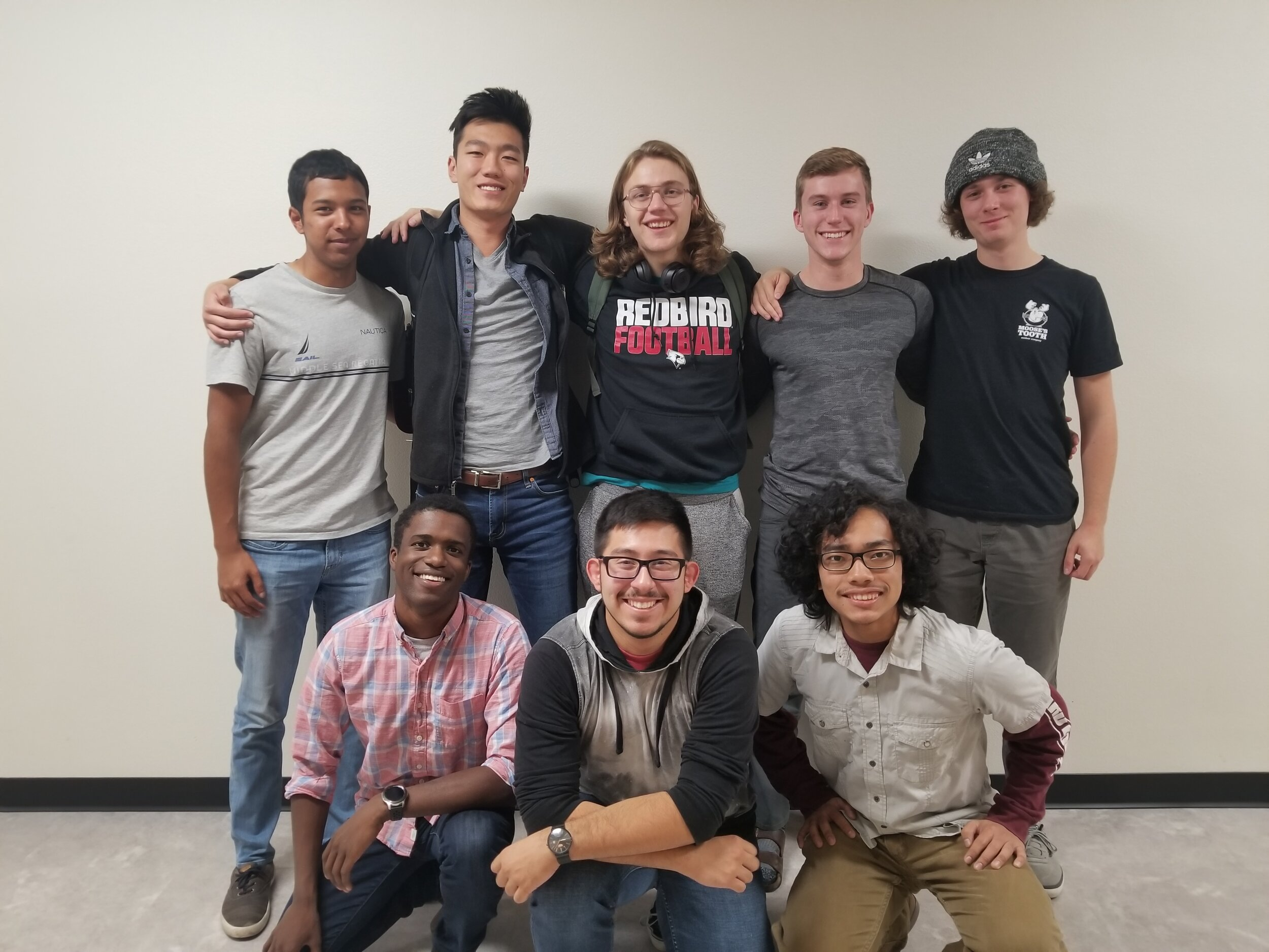 Above are some member from the 2019-2020 UAV team
