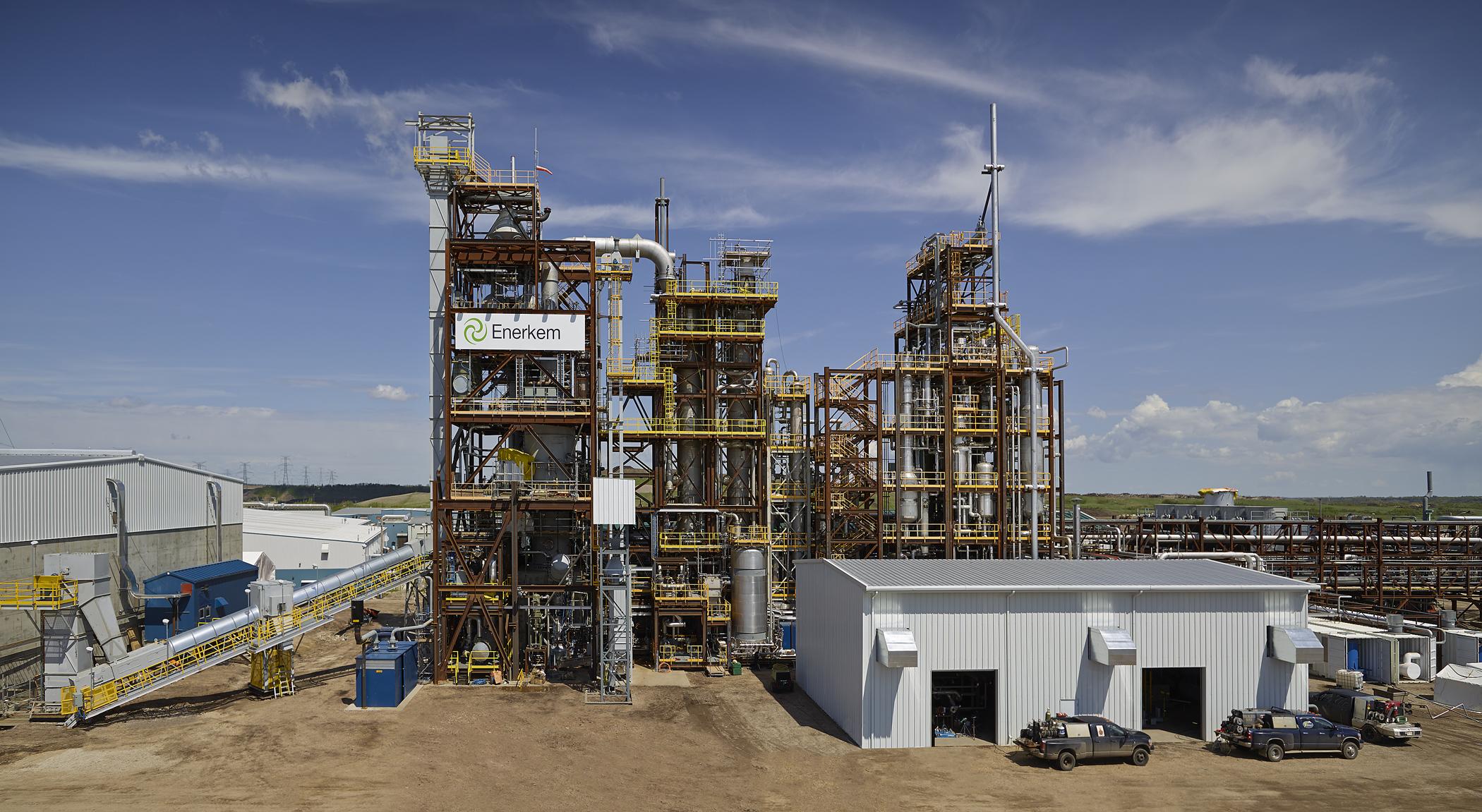 Edmonton's Waste to Biofuels Facility.