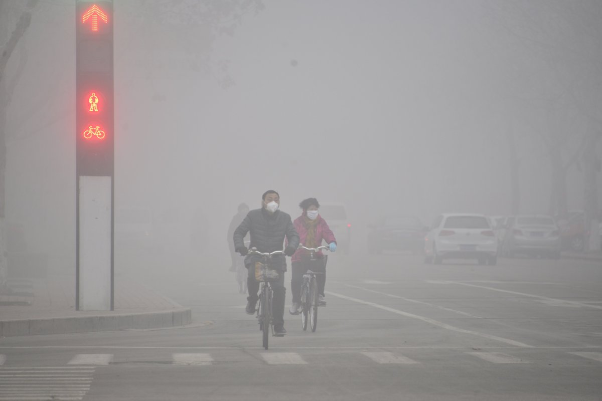 Air Pollution in China. Source:China Stringer Network/Reuters
