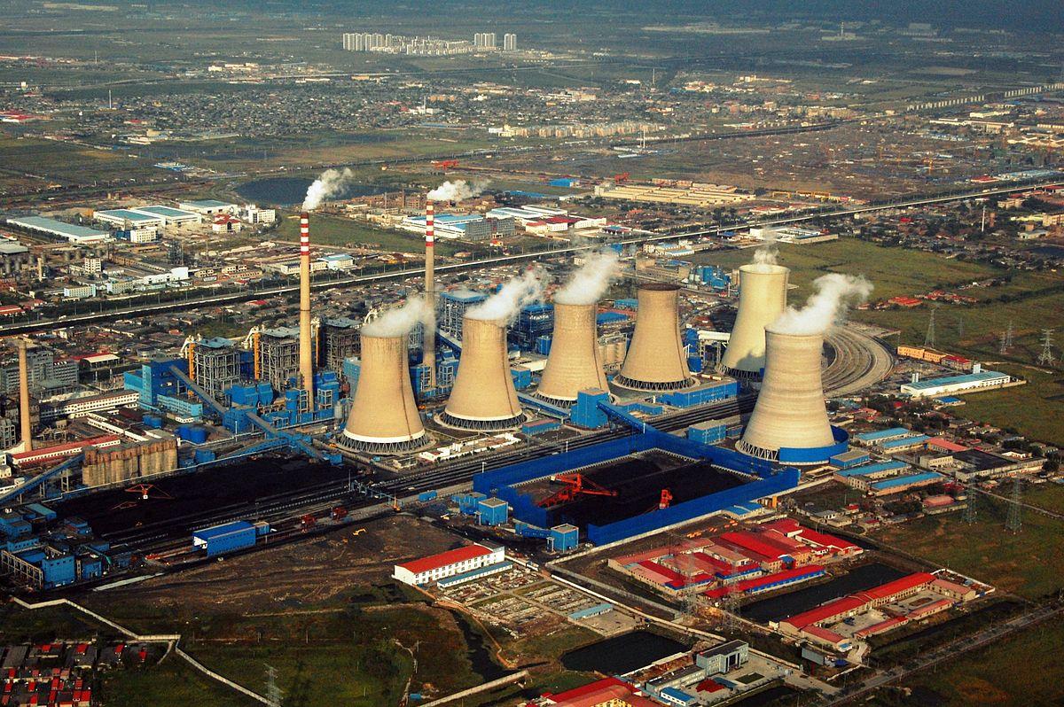 Jungliangcheng power plant in Tianjin, China. Source: Wikimedia Commons