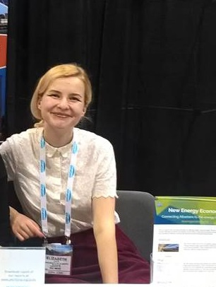 Here I am at the Canadian Solar Conference a few weeks ago. At the conference, leading solar companies across the globe gathered to showcase their products and connect with stakeholders. Hopefully I learnt something in the 12 hours I spent chatting with solar people!