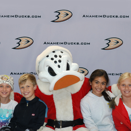 Kids Club Skate Party at Honda Center