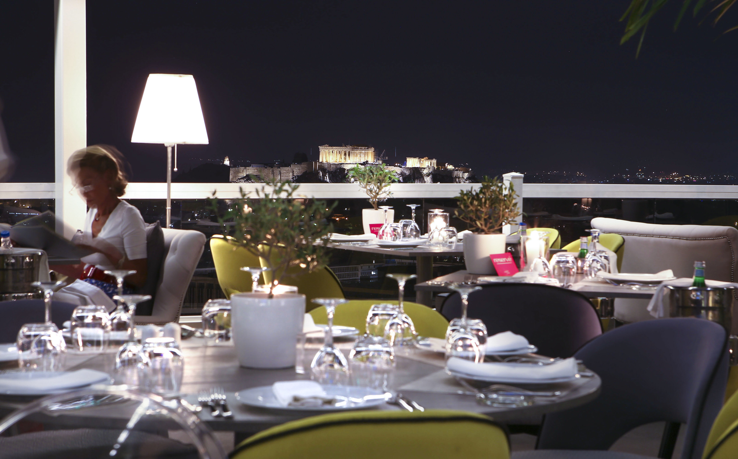 Roof top Restaurant-St.George Lycabettus Hotel