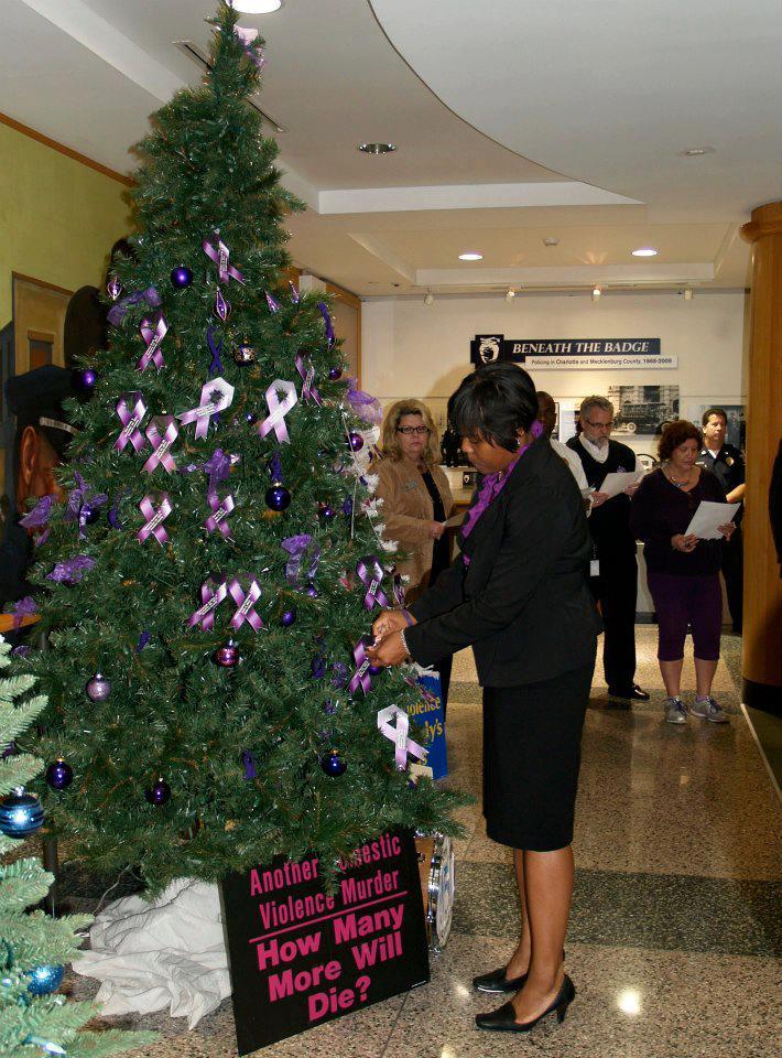 Domestic Violence Memorial Tree