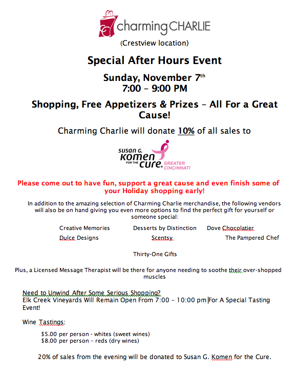 Charing Charlie Event