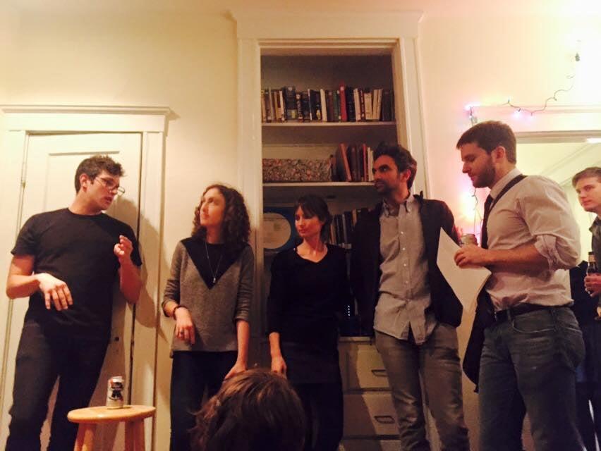 with Chris Schlegel, Adrienne Raphel, Lindsay Turner and Adam Scheffler at Long Weekend